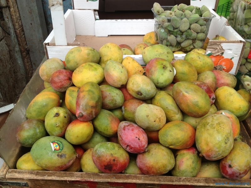 Mangos with Fresh Almonds 6-19-13