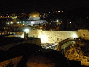 The Kotel / Western Wall at Birkat HaChama - the once-in-28-year commemoration of Creation