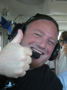 Co-piloting my friend's small plane