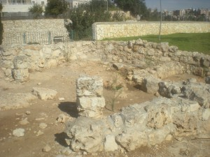 archaeology, Malha, Malcha, Jerusalem, Israel, Middle Bronze, village, foundations
