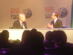 Chris Matthews and Nir Barkat