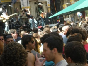 Jerusalem Summer Street Fair. Live Band.