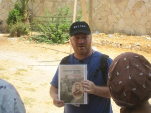 Explaining the origins of the Sukkat Shalom part of Nahalaot, Jerusalem