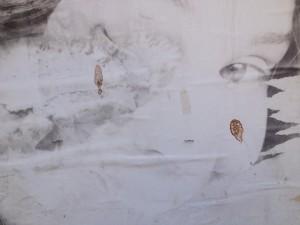 Art poster on Tel Aviv street