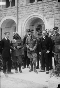 Herbert Samuel, T.E. Lawrence and others at Cairo Convention