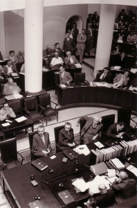 Knesset chambers, 1952